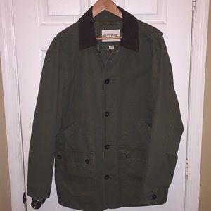 Orvis Cotton Canvas Barn Field Jacket Coat